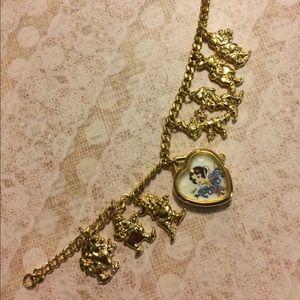 Rare Disney Snow White Gold Watch